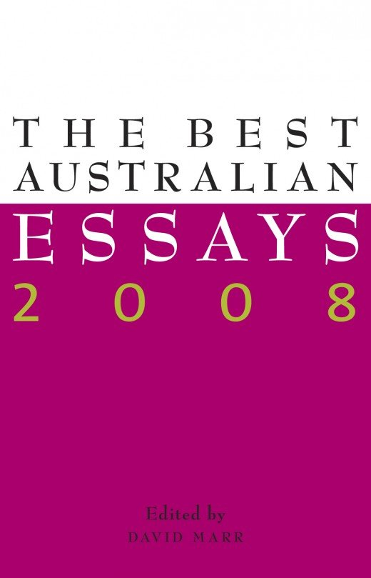 The Best Australian Essays 2008