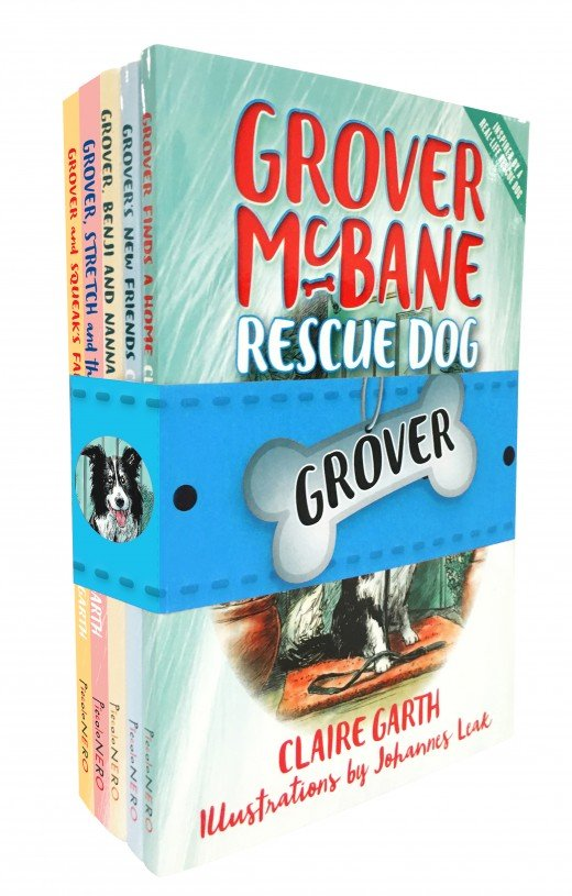 Grover McBane Rescue Dog - Books 1-5 pack