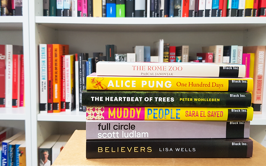 Win: Advance copies of upcoming books