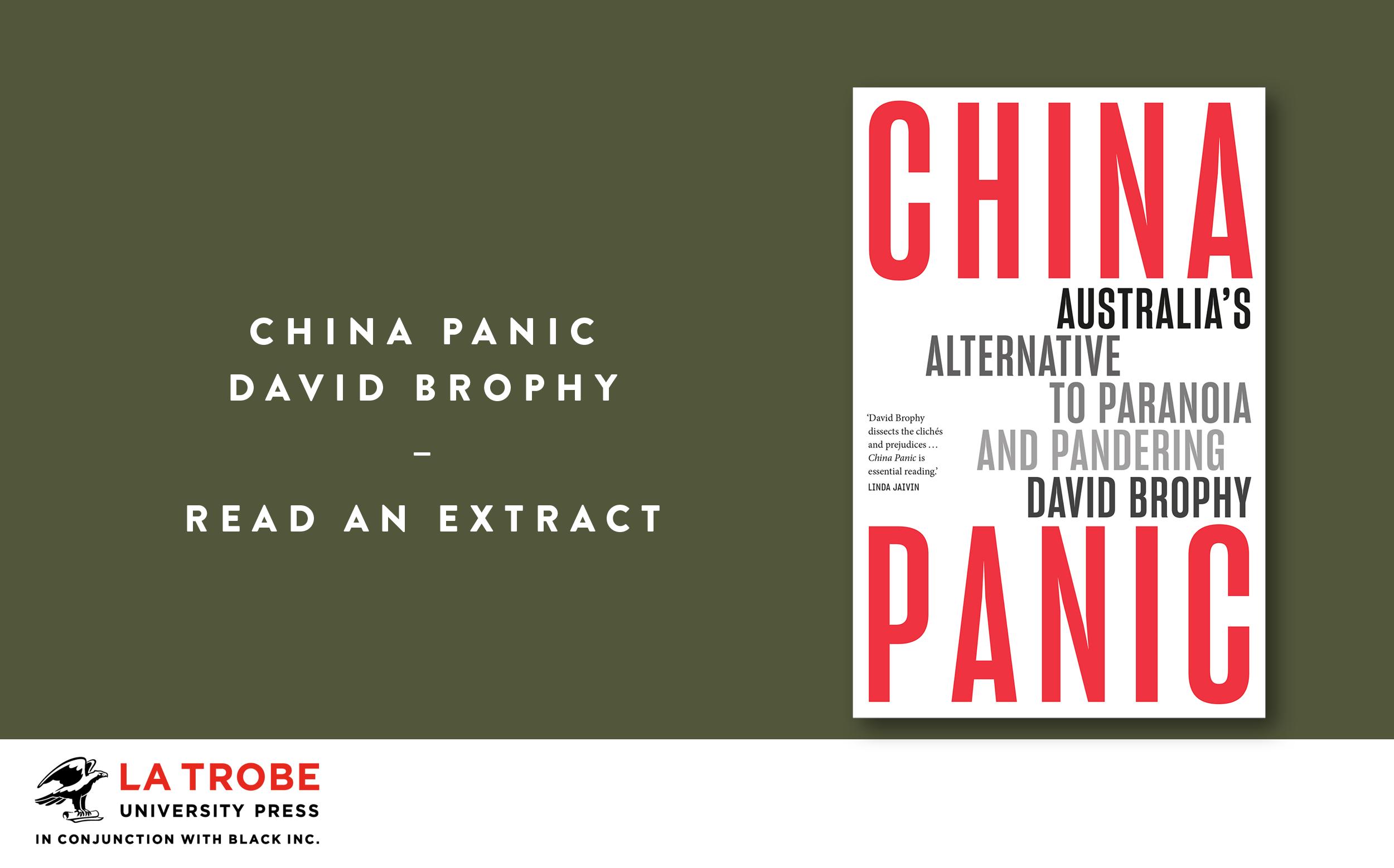Read an extract: China Panic