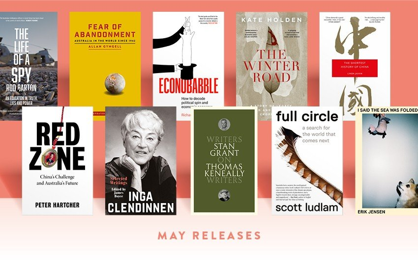 Win: New books in May