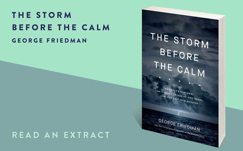 Read an extract: The Storm Before the Calm