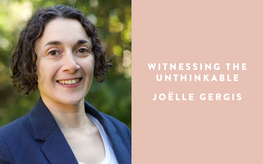 Acquisition news: Witnessing the Unthinkable by Joëlle Gergis